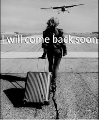 be back soon
